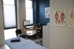 fysio Purmerend fysiotherapeut Weidevenne Purmerend behandelkamer